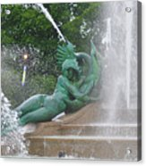 Philadelphia - Swann Memorial Fountain - Logan Square Acrylic Print