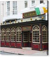 Philadelphia's Famous Irish Pub Acrylic Print