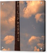 Philip Morris Cigarette Factory Acrylic Print