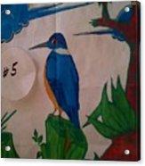 Philippine Kingfisher Painting Contest 6 Acrylic Print