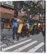 Philippines 906 Crosswalk Acrylic Print