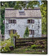 Philipsburg Manor House - Thru The Woods Acrylic Print