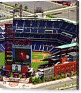 Phillies Citizens Bank Park Philadelphia Acrylic Print by Duncan Pearson