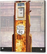 Phillips 66 Antique Gas Pump Acrylic Print