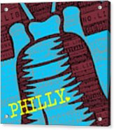 Philly Liberty Bell Acrylic Print