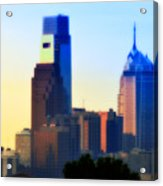 Philly Morning Acrylic Print