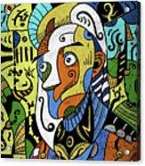 Philosopher Acrylic Print