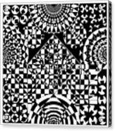 Philosophers Kaleidoscope Acrylic Print