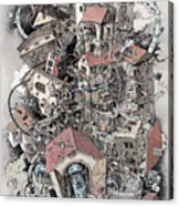 Philosophia Turbae Acrylic Print