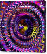 Philosophical Rainbow Acrylic Print