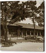 Phoebe A Hearst Social Hall Asilomar Pacific Grove Circa 1925 Acrylic Print