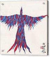 Phoenix Flying Acrylic Print