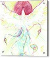 Phoenix Sun Acrylic Print