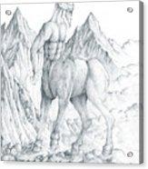 Pholus The Centauras Acrylic Print