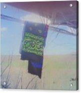 Phone Cam 508 Abandoned Bandana Acrylic Print