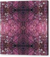 Photo 0800 Autumn Tree Leaves Fractal E2 Acrylic Print