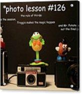 Photo Lesson  Acrylic Print