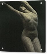 Photo Of Female Sculpture By The Artist Acrylic Print