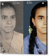 Photo Restoration Services Image Outsource India Acrylic Print