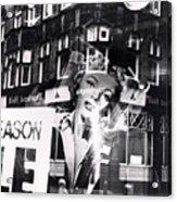Photograph Of Marilyn Acrylic Print