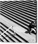 Photographer In Paris Acrylic Print