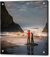 Photographer Vs Selfiegrapher Acrylic Print
