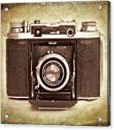 Photographer's Nostalgia Acrylic Print