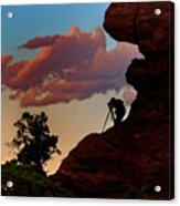 Photographing The Landscape Acrylic Print