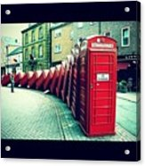 #photooftheday #london #british Acrylic Print by Ozan Goren