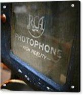 Photophone Acrylic Print