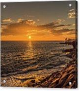 Photo's Of Tenerife - La Caleta Sunset Acrylic Print