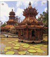 Phra Kaew Pavillion Acrylic Print