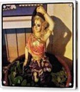 Phra Mae Thorani. Holy Mother Of Earth Acrylic Print