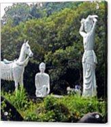 Phu My Statues 1 Acrylic Print
