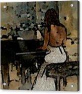 Pianist #0077 Acrylic Print