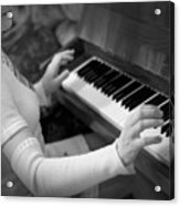 Piano Acrylic Print