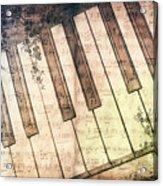 Piano Days Acrylic Print