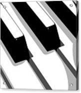 Piano Keyboard Acrylic Print
