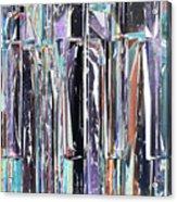 Piano Keys Abstract Acrylic Print