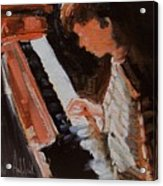 Piano Lesson Acrylic Print