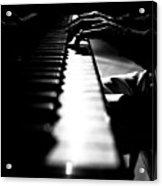 Piano Player Acrylic Print by Scott Sawyer