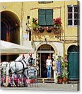 Piazza Anfiteatro Acrylic Print