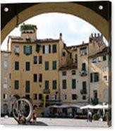 Piazza Antifeatro Lucca Acrylic Print