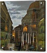 Piazza Del Duomo Acrylic Print