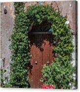 Piazza Della Rocca Acrylic Print