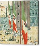 Piazza Di San Marco Acrylic Print