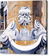 Piazza Frescobaldi Acrylic Print