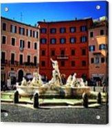 Piazza Navona 4 Acrylic Print