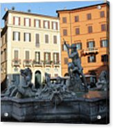 Piazza Navona Rome Acrylic Print