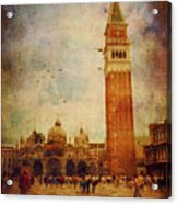 Piazza San Marco - Venice Acrylic Print